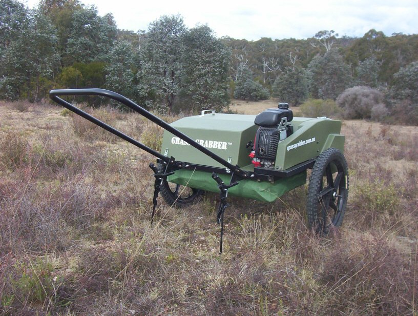 Grass Grabber manual configuration